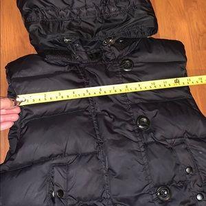 GAP Jackets & Coats - Gap puffer vest w hood- Xs